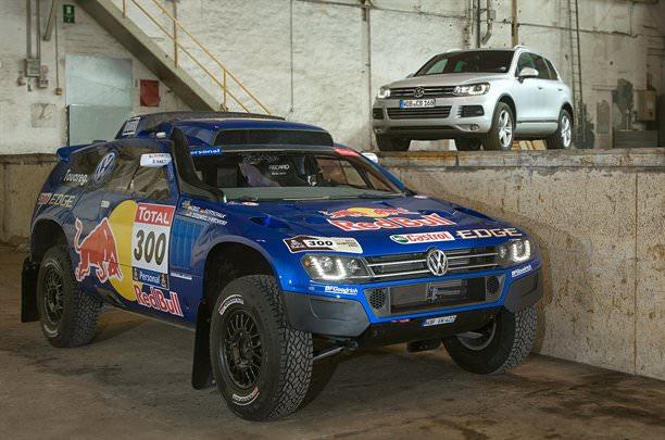 Volkswagen Race Touareg 3 a fost lansat