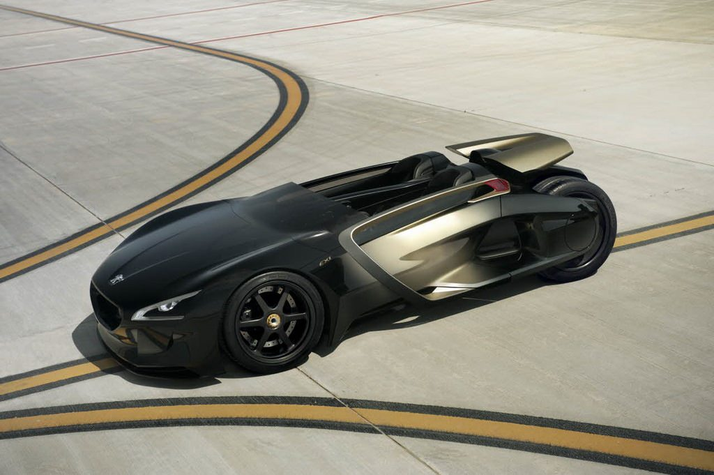 Peugeot lansează EX1 Concept