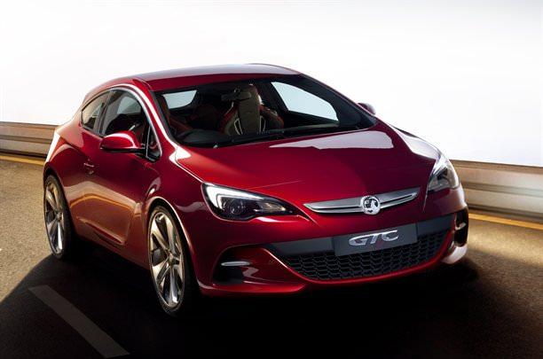 Astra GTC concept car