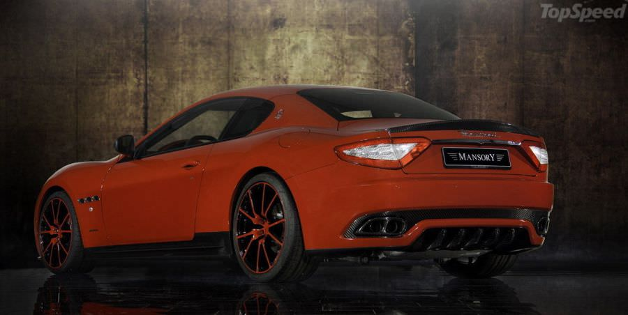 Mansory prezintă Maserati GranTurismo