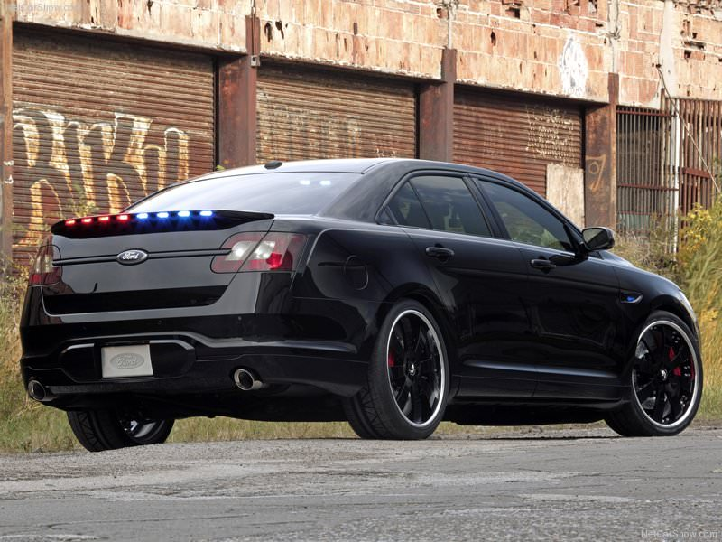 SEMA 2010: Ford Police Interceptor Stealth Concept