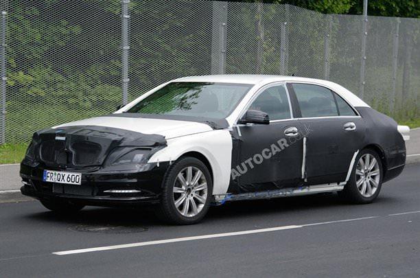 Mercedes pregăteşte revoluţia pentru S-Class