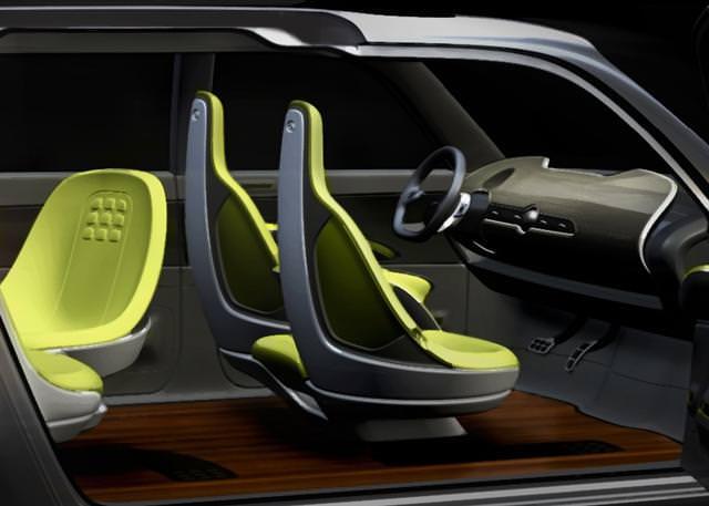 """Kia KV7 Concept – """"declaraţie de design dramatic"""""""