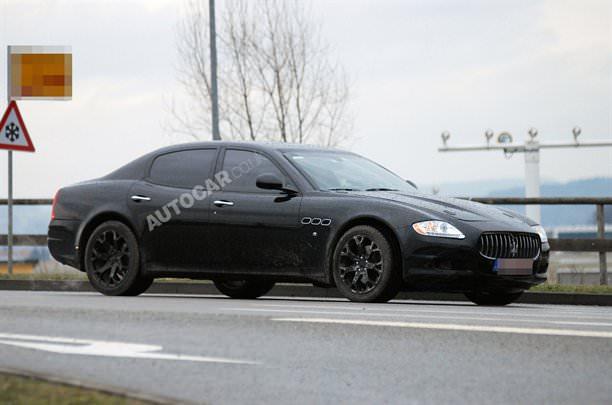 Maserati pregăteşte un rival pentru M5, E63 AMG sau XFR!