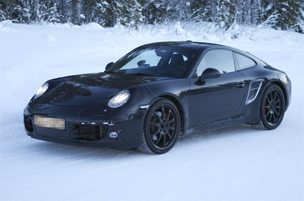 Poze spion. Noua generaţie Porsche 911!