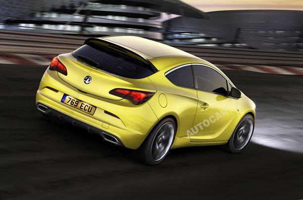 Opel Astra OPC capătă contur!
