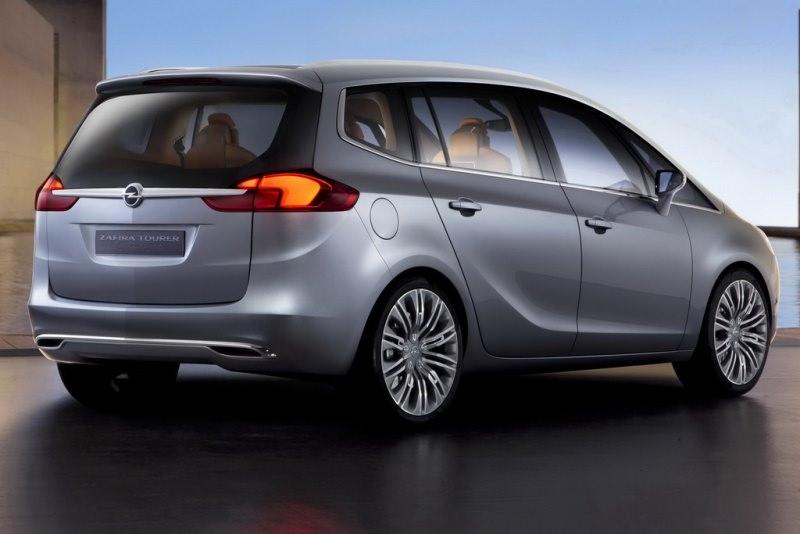 Opel Zafira Tourer Concept!