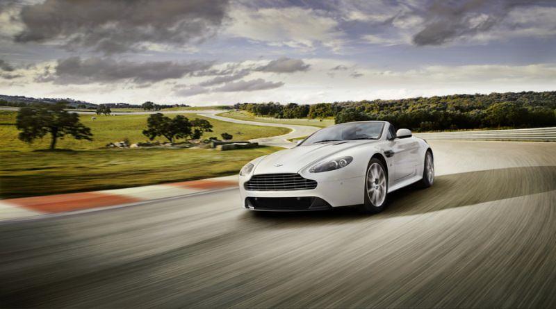 Geneva 2011. Aston Martin V8 Vantage S