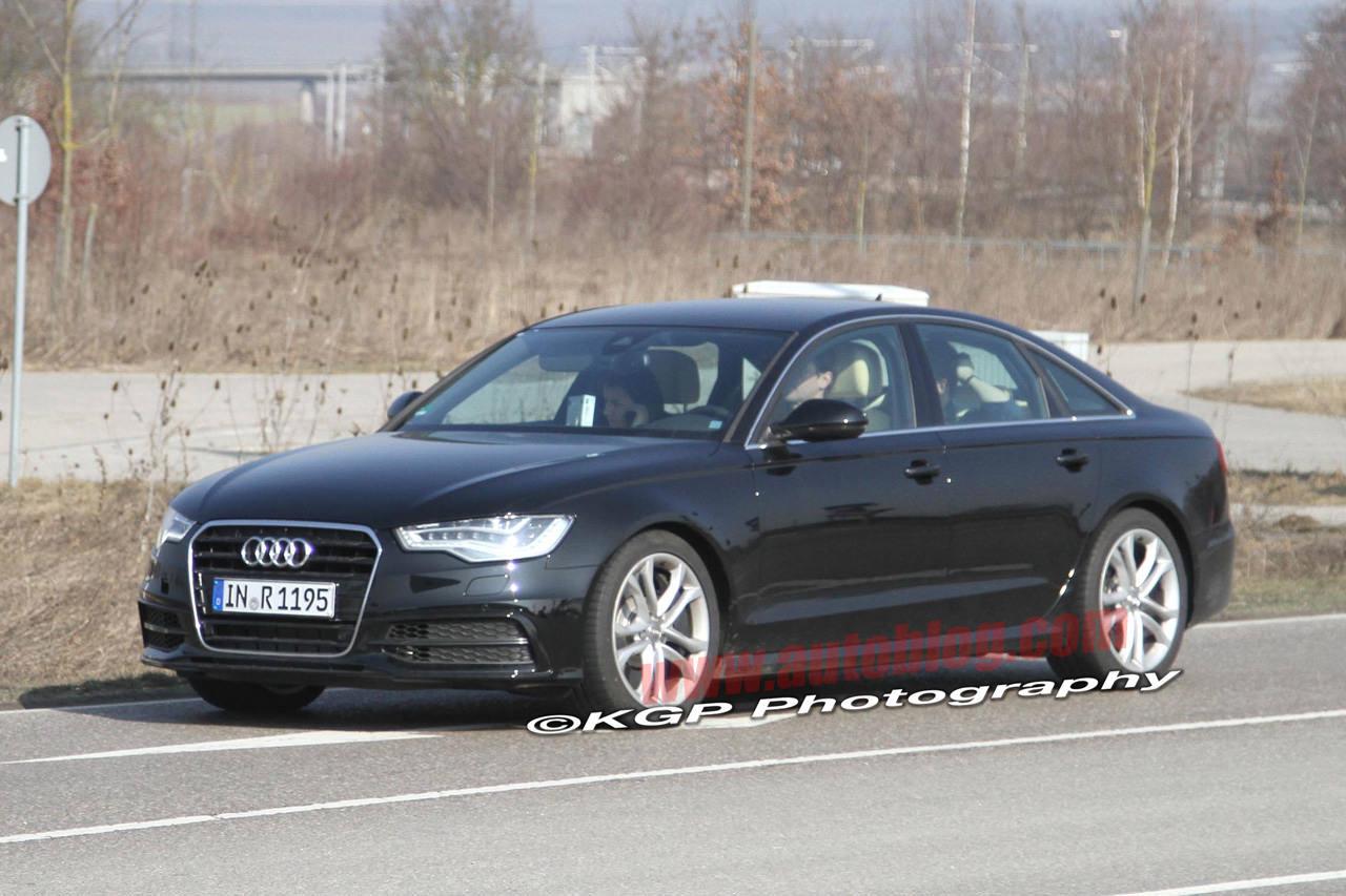 Noi imagini cu viitorul Audi S6!