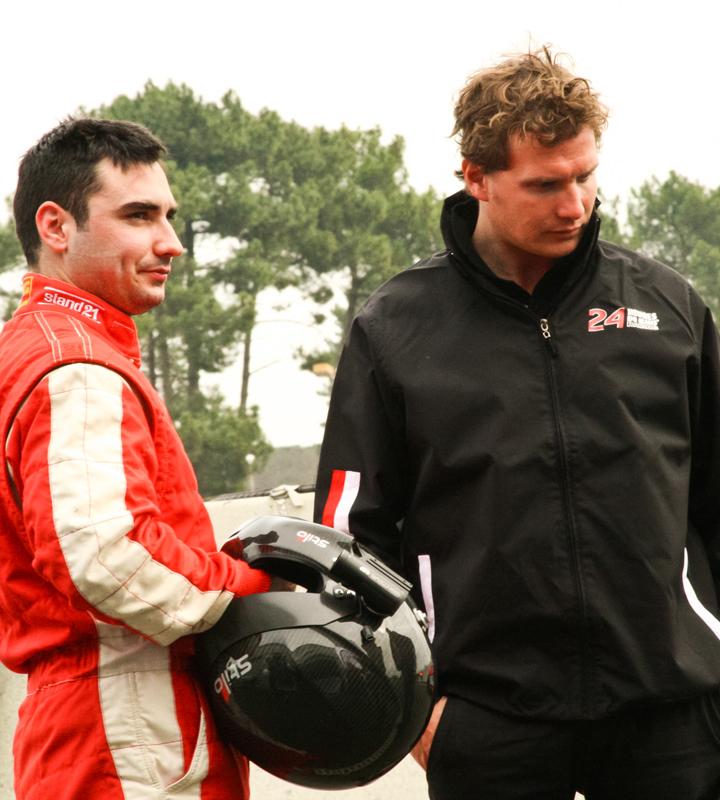 Giui Anghelescu jr, un român la Le Mans!