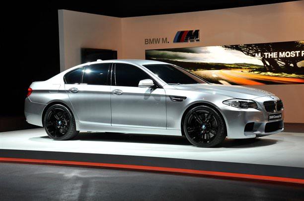 BMW M5 iese la rampă înainte de vreme!
