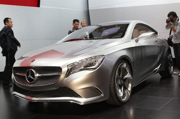 Shanghai 2011. Mercedes Concept A!