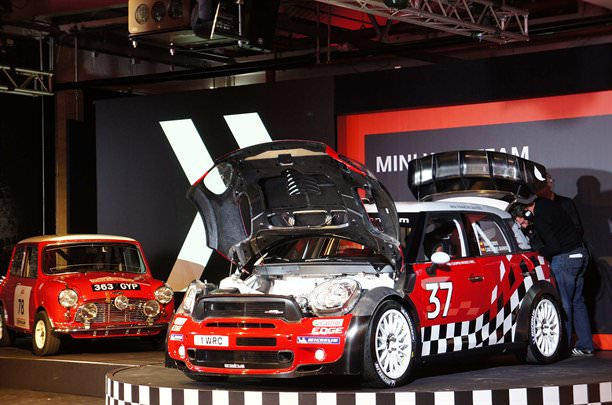 Mini şi-a prezentat varianta finală WRC!