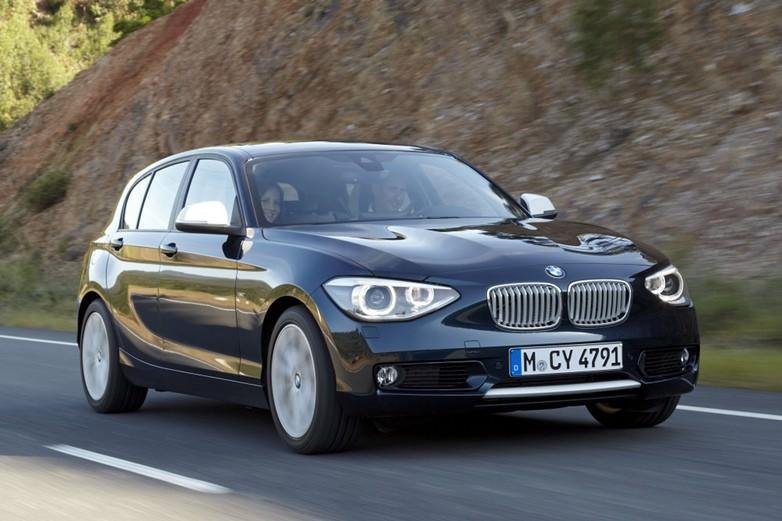 PREMIERA. Primele fotografii cu noul BMW Seria 1 2012!