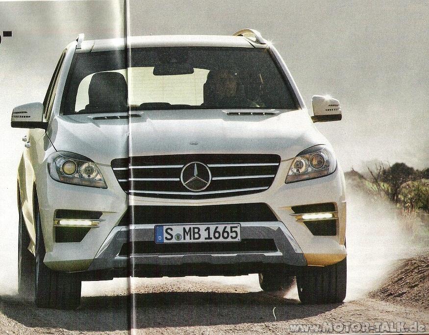Gossip. Aşa arată viitorul Mercedes M-Class!