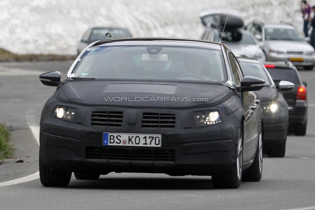 Spionaj. Noul VW Passat CC!