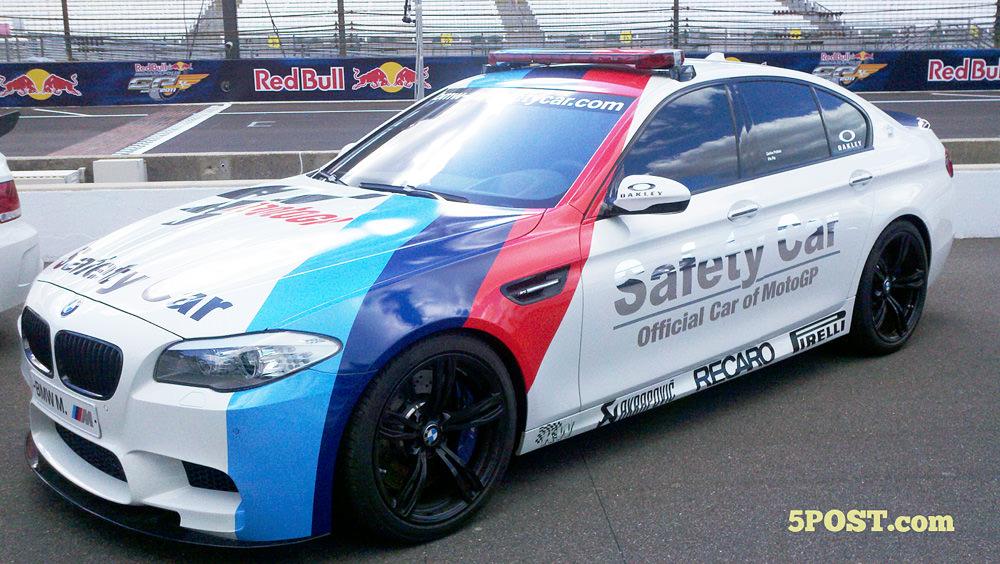 BMW M5 Safety Car, maşina care îi ţine în spate pe Stoner & co.