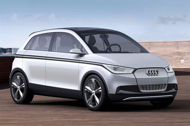 Audi dezvăluie încă puţin din misterul A2 Concept!