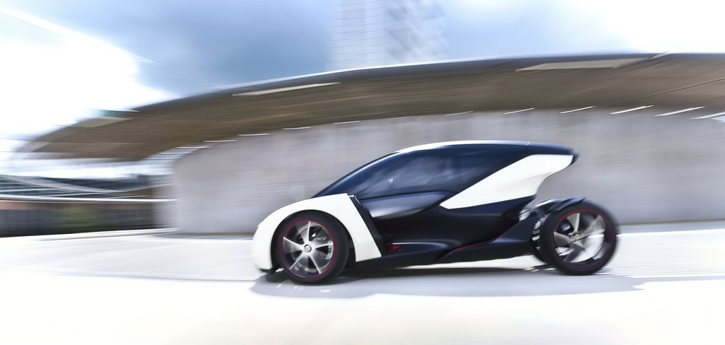 Opel 2 Seat Electric Car Concept!