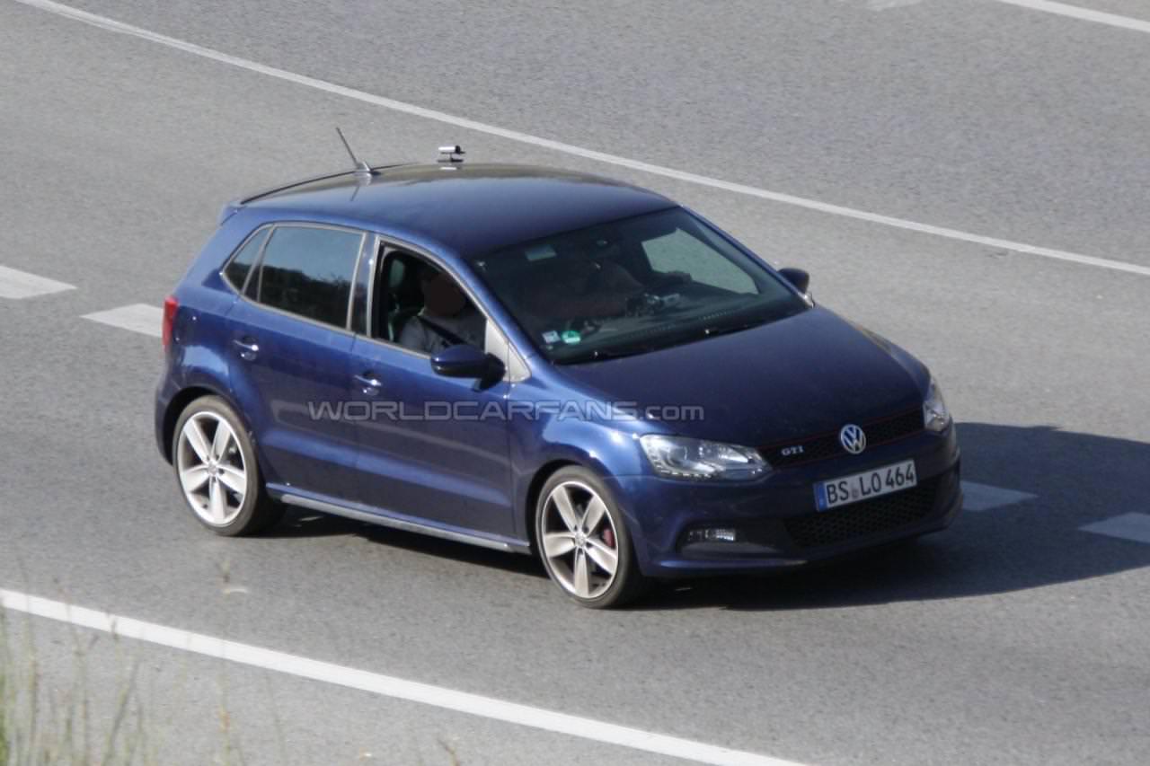 Spionaj. VW Polo R, următorul membru al familiei WRC!
