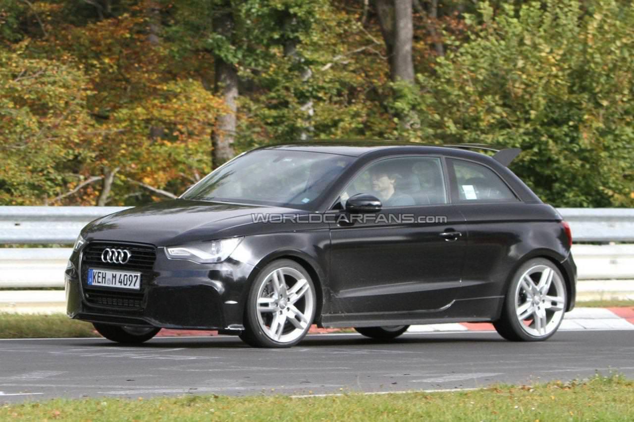 Spionaj. Audi RS1!