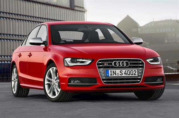 Audi A4 2012, lansat la apă!