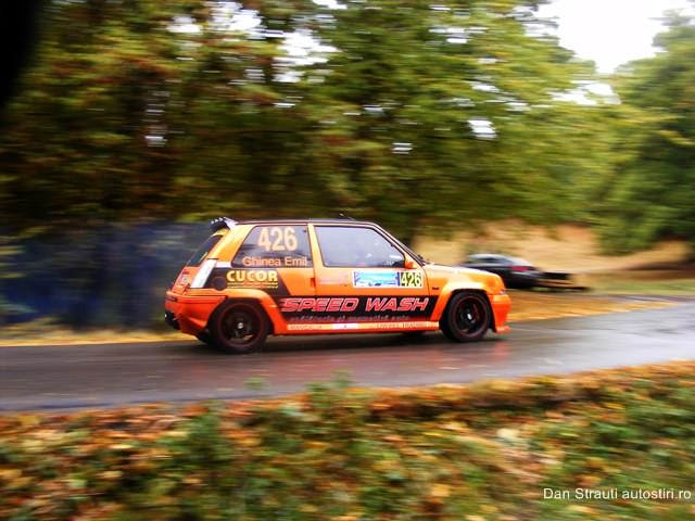 Emil Ghinea debut in competitii la volanul unui Renault 5 GT Turbo