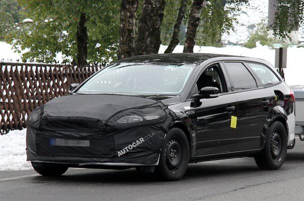 Spionaj. Noua generaţie Ford Mondeo!