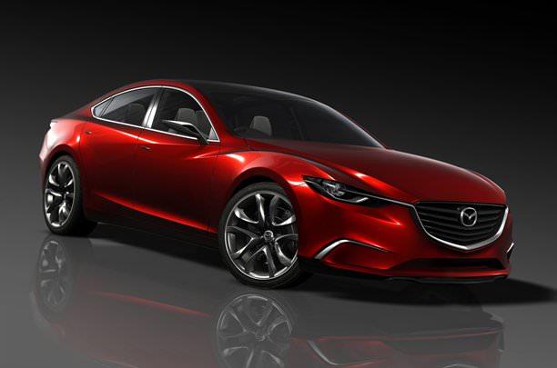 Mazda Takeri Concept prefigurează viitoarea Mazda6!