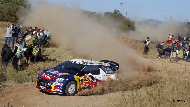 WRC. Loeb câştigă Raliul Spaniei!