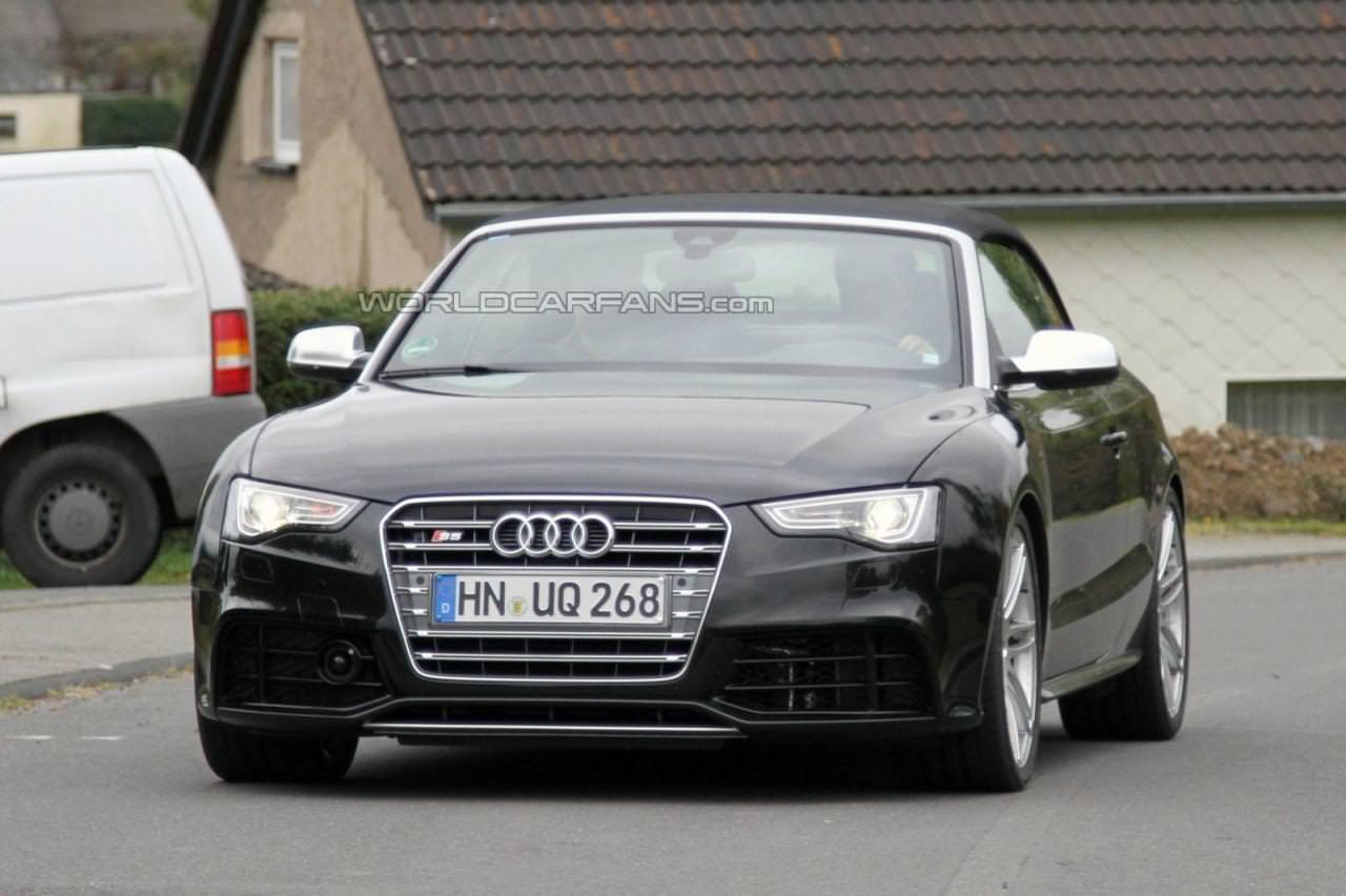 Spionaj. Audi RS5 Cabrio!