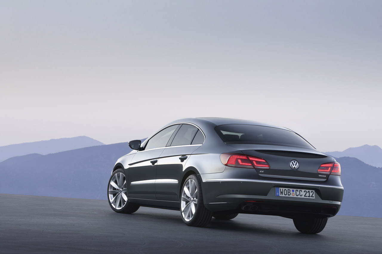 VW Passat CC 2013 facelift!