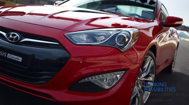 Primele fotografii oficiale ale noului Hyundai Genesis Coupe