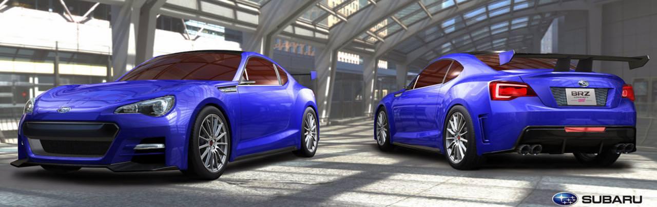 Subaru BRZ STI va fi lansat la Los Angeles!