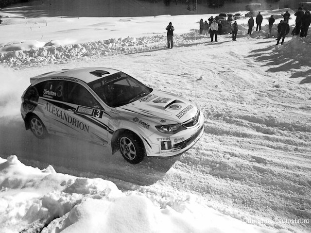 Dan Gîrtofan – Winter Rally Covasna 2012