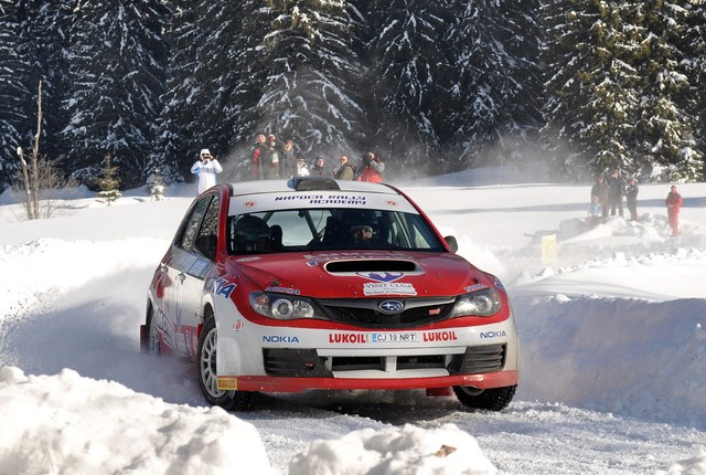 Marco Tempestini – Winter Rally Covasna 2012