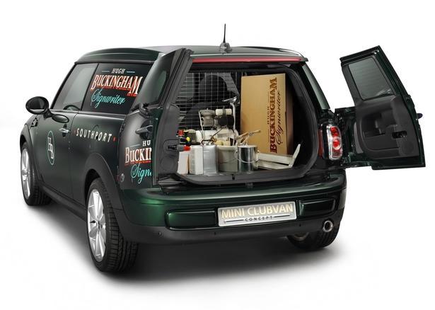 Premieră mondială: BMW va dezvălui prototipul MINI Clubvan Concept
