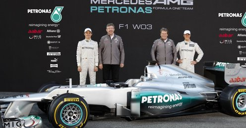 F1: Mercedes şi-a prezentat noul monopost W03
