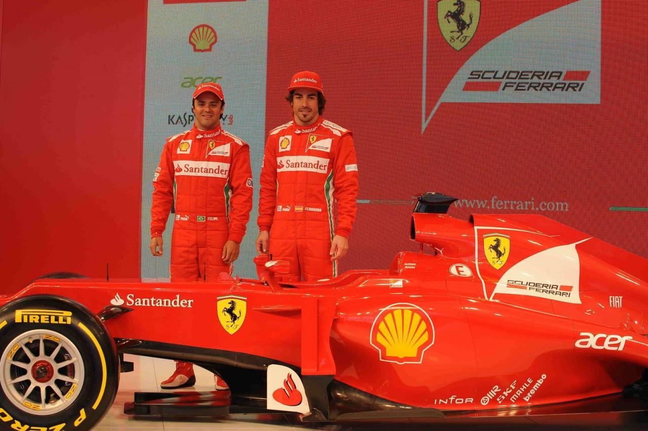 Ferrari F2012 gata de luptă!