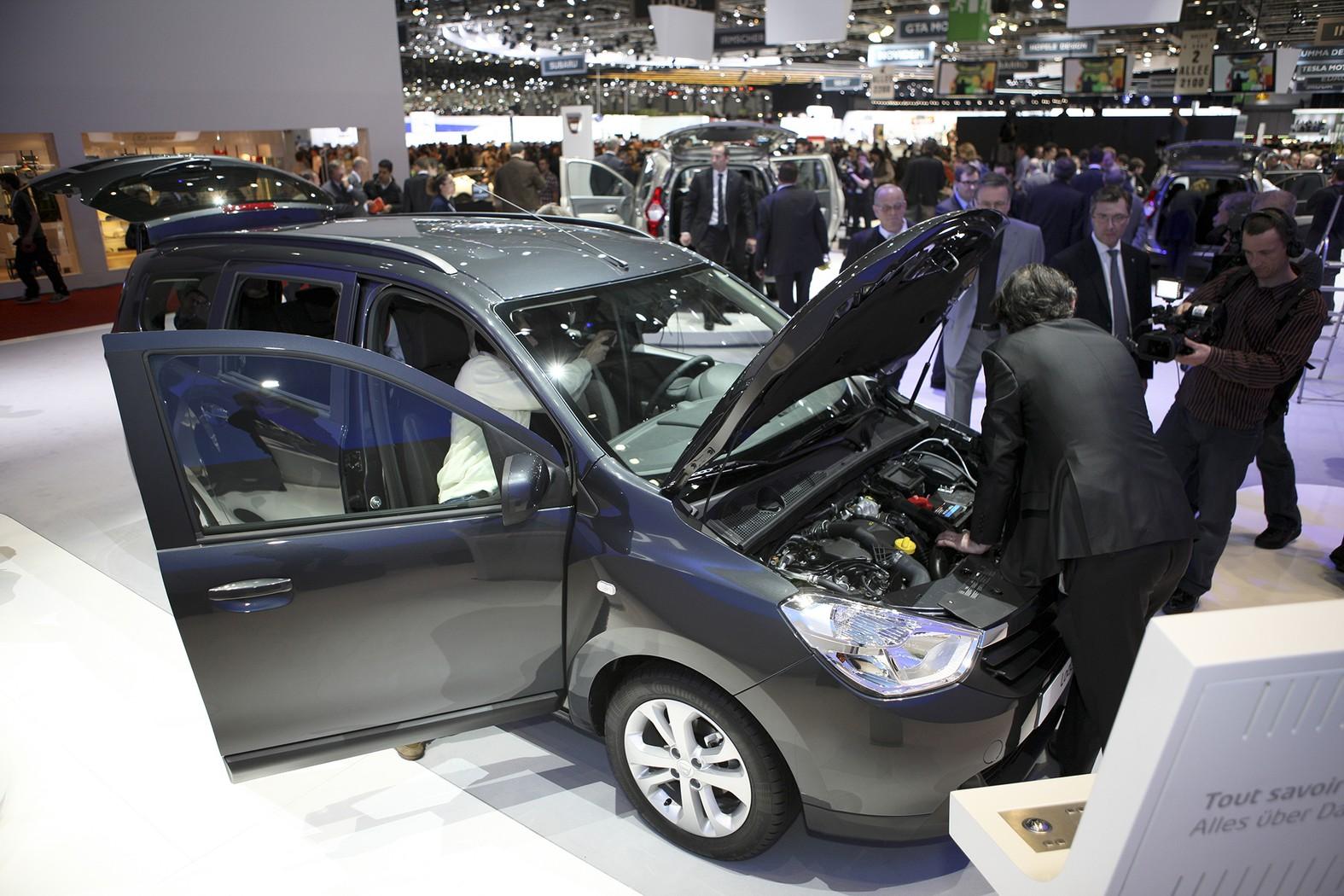 Dacia la Salonul de la Geneva 2012