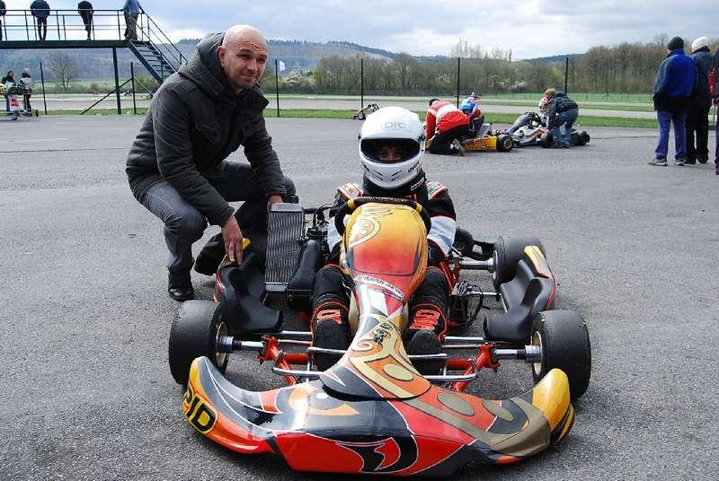 """Adrian Mircea PLĂMĂDEALĂ in teste pe circuitul """"Des Fagnes"""" Mariembourg-Belgia"""
