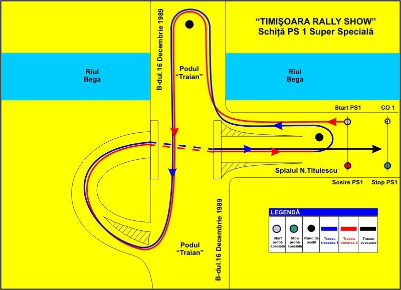 Caravana Campionatului National de Raliuri Dunlop in Banat