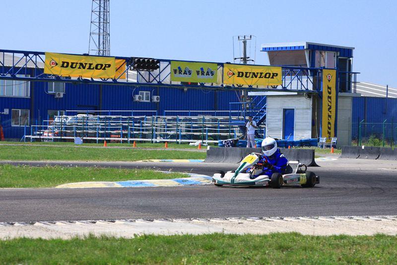 Debut promitator in Campionatul National de Karting Dunlop 2012