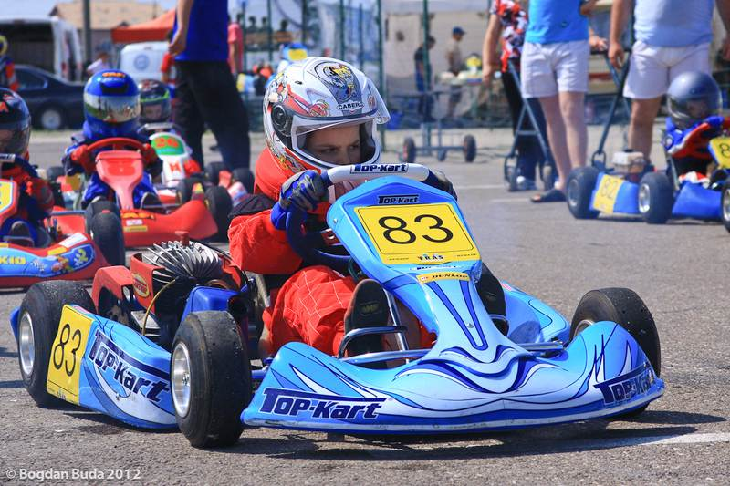 Debut de exceptie in Campionatul National de Karting Dunlop 2012