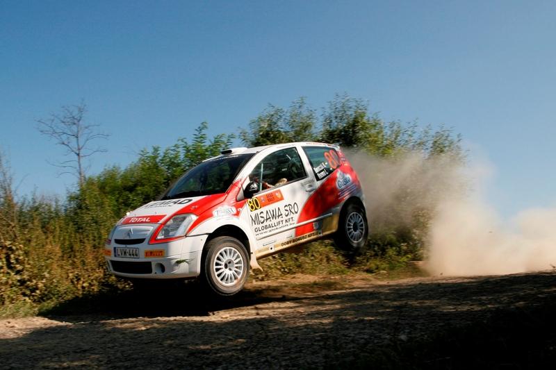 Vlad Cosma, Citroën si Pirelli au triumfat in Raliul Aradului