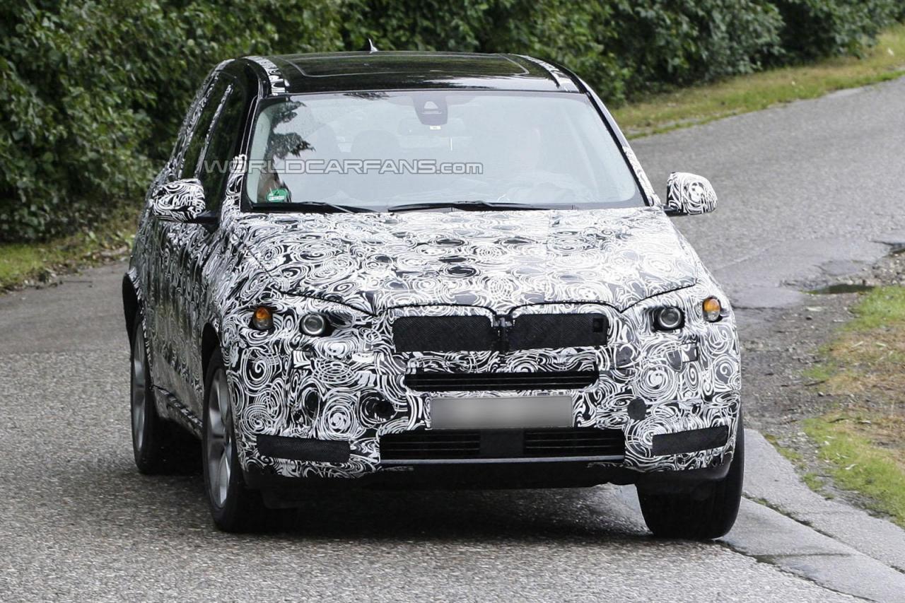 SPIONAJ. Noua generatie BMW X5!
