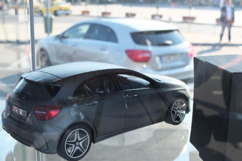 Clasa A poate fi testată în cadrul Roadshow-ului organizat de Mercedes-Benz în Bucureşti