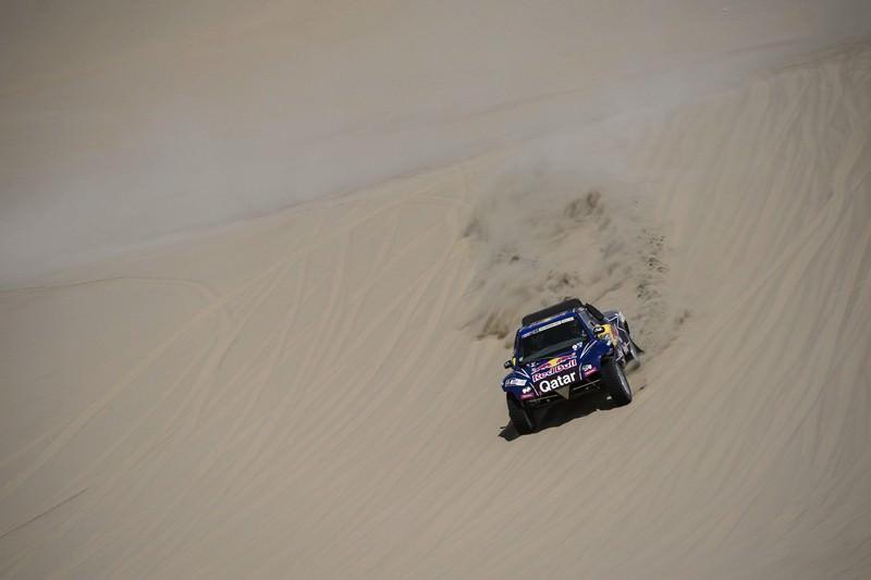 Echipajul Nasser Al-Attiyah si Lucas Cruz castiga pentru Qatar Red Bull Rally Team