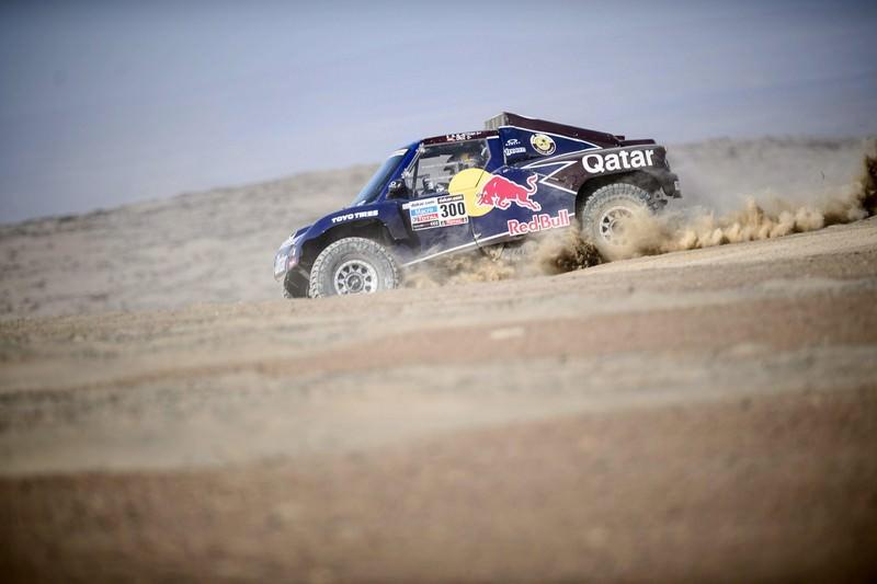 O noua victorie pentru Nasser Al-Attiyah si Qatar Red Bull Rally Team