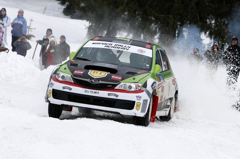Covasna Winter Rally Kremsmueller: Napoca Rally Academy iubeste zapada